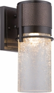 Designers Fountain LED32911-BBZ Baylor Modern Burnished & Flemish Bronze LED Outdoor 5  Lighting Sconce
