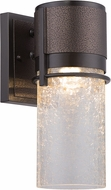 Designers Fountain LED32921-BBZ Baylor Contemporary Burnished & Flemish Bronze LED Exterior 7  Lamp Sconce