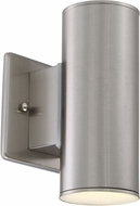 Designers Fountain LED33001C-SP Barrow Contemporary Satin Platinum LED Exterior Wall Light Fixture