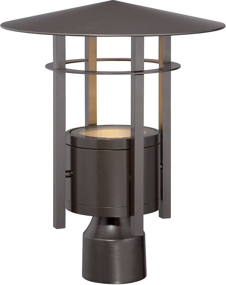 Designers Fountain LED34036 BNB Englewood Modern Burnished Bronze LED Exterio