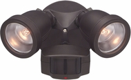 Designers Fountain PH218S-87 Area & Security Modern Distressed Bronze Halogen Exterior Motion Detector Home Security Lighting