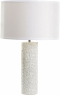 Dimond 8989-001 Contemporary White Marble Lighting Table Lamp