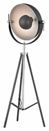 Dimond D2464 Backstage Matt Black With Polished Nickel Finish 23  Wide Light Floor Lamp