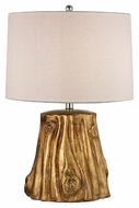 Dimond D2494 Solihul Rustic Antique Gold Finish 24  Tall LED Side Table Lamp