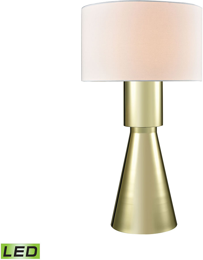 Dimond D3205 LED Paris Contemporary Gold Plate LED Side