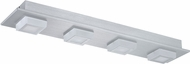 EGLO 201292A Masiano Modern Brushed Aluminum LED Ceiling Light Fixture