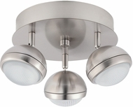 EGLO 201462A Lombes 1 Modern Matte Nickel LED Ceiling Light Fixture