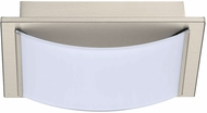 EGLO 201467A Wasao Modern Matte Nickel LED Lighting For Bathroom