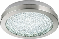 EGLO 32046A Arezzo 2 Contemporary Matte Nickel LED Ceiling Light Fixture