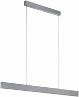 EGLO 39267A Climene Contemporary Brushed Aluminum LED Island Lighting