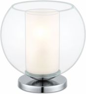 EGLO 92763A Bolsano Modern Satin Nickel Accent Table Light