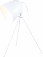 EGLO 92889A Don Diego Modern Glossy White Table Lamp Lighting