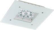 EGLO 93573A Benalua White w/ Clear Trim LED Home Ceiling Lighting