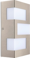 EGLO 94086A Ralora Modern Stainless Steel LED Outdoor Light Sconce