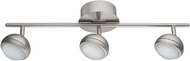 EGLO 94304A Lombes 1 Contemporary Matte Nickel LED Track Lighting Kit