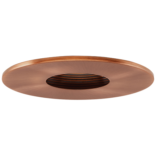 elco el1423cp contemporary copper 4 adjustable pinhole recessed lightin. Black Bedroom Furniture Sets. Home Design Ideas