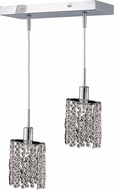 Elegant 1282D-O-E-CL-RC Mini Royal Cut Chrome Multi Hanging Pendant Lighting