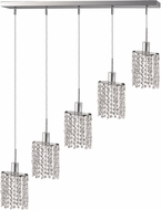 Elegant 1285D-O-E-CL-RC Mini Royal Cut Chrome Multi Ceiling Light Pendant