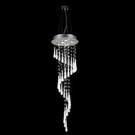 Elegant 2028G48C-GLW-RC Comet Chrome Finish 48  Tall Multi Lighting Pendant