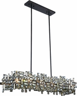 Elegant 2100G44DB-RC Picasso Dark Bronze 44  Island Light Fixture
