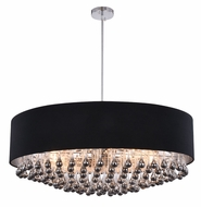 Elegant 2105D35C-RC Metro Chrome Drum Pendant Lighting