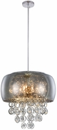 Elegant 2112D19C-RC Jordan Chrome Halogen 19  Drop Lighting