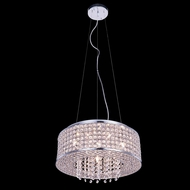 Elegant 2914D16C-RC Amelie 5  Tall Drum Hanging Light Fixture