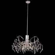 Elegant 3203D30C-RC Galactic Chrome Finish 30  Wide Lighting Chandelier