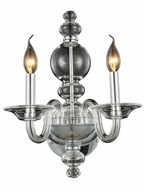 Elegant 7872W10C Champlain Chrome Wall Lighting Fixture