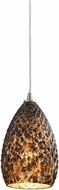 ELK 10253-1BC Geval Contemporary Satin Nickel Mini Hanging Pendant Lighting