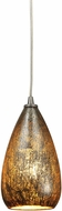 ELK 10254-1 Karma Modern Satin Nickel Mini Drop Lighting Fixture
