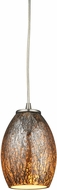 ELK 10256-1 Venture Modern Satin Nickel Mini Hanging Pendant Light