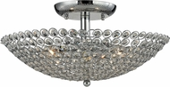 ELK 10481-3 Hammond Polished Chrome Ceiling Light Fixture