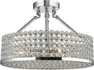 ELK 10482-4 Hammond Polished Chrome Ceiling Lighting Fixture