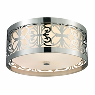 ELK 11429-3 Willow Bend Polished Chrome Ceiling Lighting