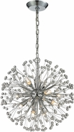 ELK 11545-9 Starburst Modern Polished Chrome Halogen Mini Chandelier Light