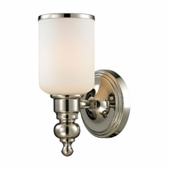 ELK 11570-1 Bristol Polished Nickel Lighting Sconce