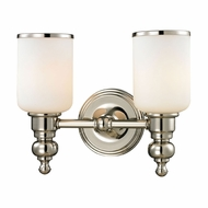 ELK 11571-2 Bristol Polished Nickel 2-Light Bathroom Lighting