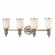 ELK 11573-4 Bristol Polished Nickel 4-Light Bath Lighting