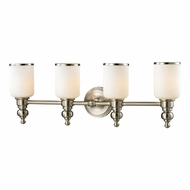 ELK 11583-4 Bristol Brushed Nickel 4-Light Vanity Lighting