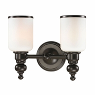 ELK 11591-2 Bristol Oil Rubbed Bronze 2-Light Vanity Light