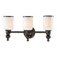 ELK 11592-3 Bristol Oil Rubbed Bronze 3-Light Bath Light Fixture