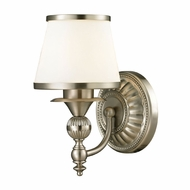 ELK 11600-1 Smithfield Brushed Nickel Lighting Wall Sconce