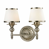 ELK 11601-2 Smithfield Brushed Nickel 2-Light Bathroom Sconce