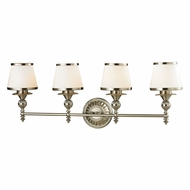 ELK 11603-4 Smithfield Brushed Nickel 4-Light Vanity Light Fixture