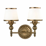 ELK 11611-2 Smithfield Aged Brass 2-Light Vanity Lighting Fixture