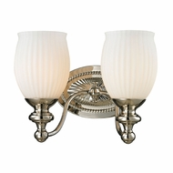 ELK 11641-2 Park Ridge Polished Nickel 2-Light Bathroom Lighting