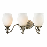 ELK 11642-3 Park Ridge Polished Nickel 3-Light Lighting For Bathroom