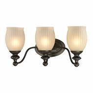 ELK 11652-3 Park Ridge Oil Rubbed Bronze 3-Light Bathroom Lighting Fixture