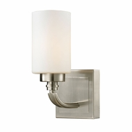 ELK 11660-1 Dawson Brushed Nickel Wall Light Sconce